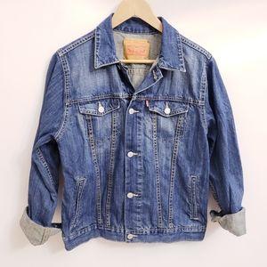 Levi's Blue Jean Denim Trucker Jacket, Sz XL
